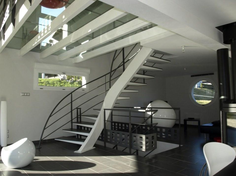 Escaliers olivier marczak le design chez vous for Rambarde escalier interieur