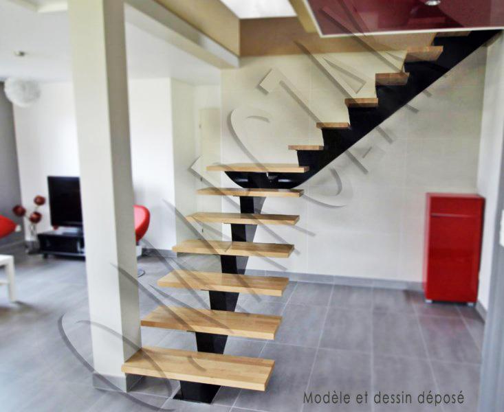 Escalier limon centrale BCD29a1