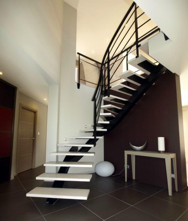 Escalier limon centrale - Escalier limon centrale ...